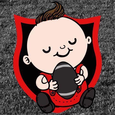 22/09/2019 - le Roct accueille l'association Baby Rugby, et des membres du ROCT les accompagnent pour l'encadrement .