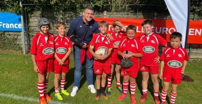 22 septembre 2021 - L'école de rugby à la rencontre de professionnels à Villeneuve d'Ascq