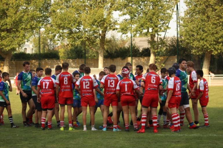 U16 - Match amical Rugby Olympique Club Tourcoing - Entente Olympique Marcquois Rugby / Lille Métropole Rugby Club Villeneuvois