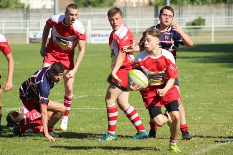 U19 - 1/2 Finale Championnat Régional 2 - Rugby à 15 - Ligue des Hauts de France