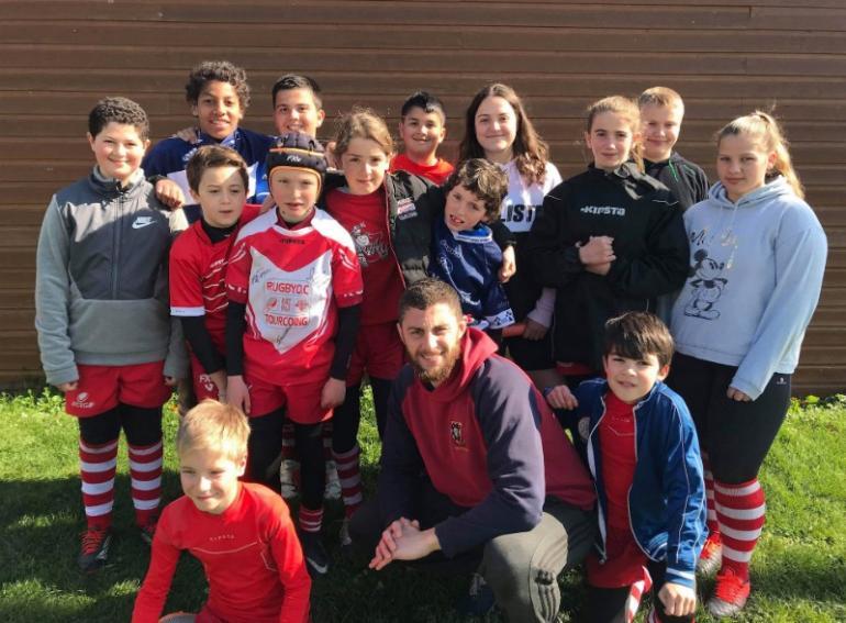 10 , 11, 12 et 13 /04/2019 - STAGE DE RUGBY Ecole de Rugby  -  PÂQUES  2019