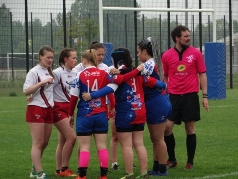 Nos Cadettes U18 - Championnes à 7 de la Ligue des Hauts de France