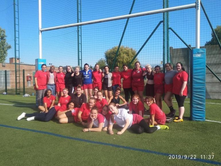 21/22 Septembre 2019 - Week-End  cohésion pour nos cadettes et seniorS féminines en stage de cohésion